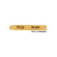 RICHTER – Mètre pliant – LONGLIFE – 2 m – jaune – PROMO – Boite de 10 Pièces