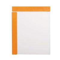 BIELLA – Sous-main à pince magnétique – A4 – orange