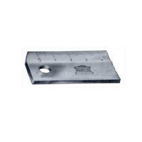 AKRYLA –  Règle plate avec facette – 1:1 – 100 cm