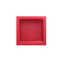 Tête de protection rouge – pour borne 100 x 100 cm