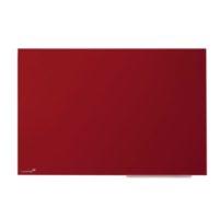 Legamaster – Tableau en verre – rouge – 100 x 150 cm