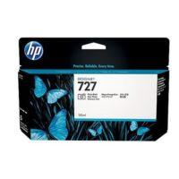 HP – Cartouche d'encre  727 – photo noir – 130 ml