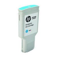 HP – Cartouche d'encre  727 – cyan- 300 ml