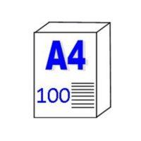 """Papier pour traceur et Imprimante """"Transparent""""  110gm2 – A4"""