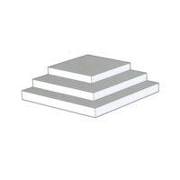 TalBond – Panneau composite  – 3 mm – BLANC – 1 500 x 3 050 mm
