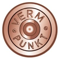 Cheville en laiton avec alliage de cuivre, tête Ø 30mm, 40mm, «VERM PUNKT» – 100 pièces