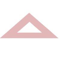DESTOCKAGE – Equerre en synthétique brun – 21 cm 45°