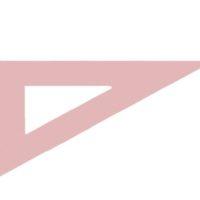DESTOCKAGE – Equerre en synthétique brun – 42 cm 60°