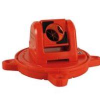Miniprisme rotatif RSMP390, 25,4 mm, rouge, magnétique