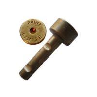 Cheville courte en laiton – «POINT LIMITE» – boîte de 100 pièces