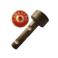 Cheville courte en laiton – «CADASTRE» – par paquer de 50 pièces
