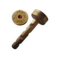 Cheville petite en laiton – «CADASTRE LIMITE» – boîte de 100 pièces