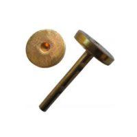 Chevilles fines en laiton – «sans inscription» – boîte de 100 pièces