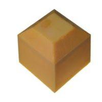 Tête de protection jaune – pour borne 100 x 100 cm