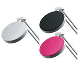 HANSA Lampe LED 4 – argent, noir, pink