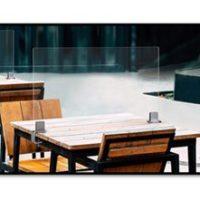 Des cloisons pratiques et esthétiques – Pince de table travers