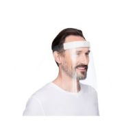 MEGNETOPLAN – Ecran facial rPET- 25 x 32 x 75 mm – transparent
