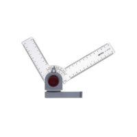 ROTRING – Règle-équerre RAPID 15° à 15° – angle de 0° – 180°