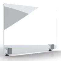 MAGNETOPLAN – Mur de protection hygiénique 1000 x 600mm – Verre acrylique, avec pince