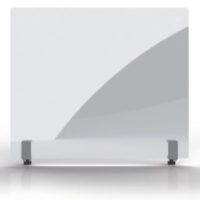 MAGNETOPLAN – Mur de protection hygiénique 500 x 850 mm – Verre acrylique, avec pince