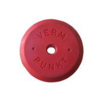 Tête en plastique pour les pointes métalliques – rouge