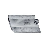 AKRYLA – Règle de réduction à 2 échelles – 20 cm – 1:500 / 1:1000 (1/2 mm)