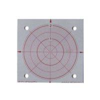 Cibles en aluminium repère d'alignement – 50 x 50 mm