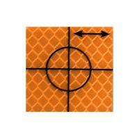 Cibles de précision – orange 30 x 30 mm – 24 pièces