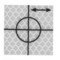 Cible de précision – 40 x 40 mm – Argent – 24 pièces