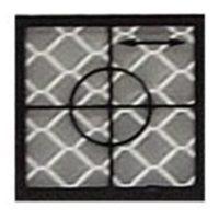 Cible de précision – 104 x 104 mm – 1 pièce