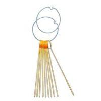 Aiguilles de marquage, orange, longueur 40 cm, jeu de 10 aiguilles