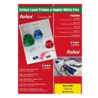 FOLEX – Film Laser Blanc BG-72 WO – 250 my – A4