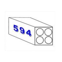 Papier pour traceur – «résistant à l'eau» – 90 gm2 – 594 mm x 50 m