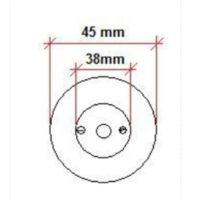 Mèche pour cheville de démarcation «POINT LIMITE» / «GRENZPUNKT»