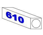 Papier d'esquisse en rouleaux – 40 gm2 – 610 mm x 50 m