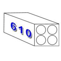 Plotterpapier «Wasserresistent» – 90 gm2 – 610 mm x 50 m