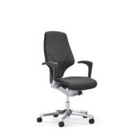 GIROFLEX – Chaise de bureau modèle 64 – NOIR – avec Accoudoirs