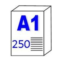 Papier pour traceur et Imprimante «résistant à l'eau» 90gm2 – A1