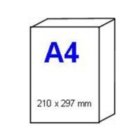 Papier pour imprimante INKJET en format – résistant à l'eau (Waterjet) – A4