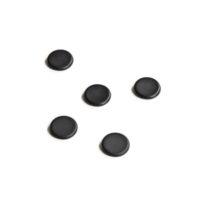 Legamaster – Aimant tableau en verre noir – 5 pièces