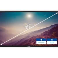 ETX Touchdisplay -ETX – 7520 – 75″ noir Legamster
