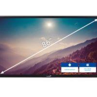 ETX Touchdisplay ETX-8620 – 86″ noir Legamaster