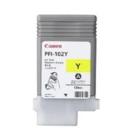 CANON – Cartouche d'encre PFI-102Y jaune – 130 ml