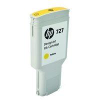 HP – Cartouche d'encre 727 – jaune – 300 ml