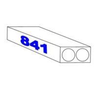 Papier pour traceur – «résistant à l'eau» – 90 gm2 – 841 mm x 100 m