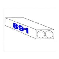 Papier pour traceur – «résistant à l'eau» – 90 gm2 – 891 mm x 100 m