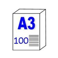 Papier pour traceur et Imprimante «Transparent» 110gm2 – A3