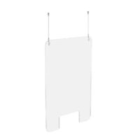 EXACOMPTA – Mur hygiénique Exascreen – Verre acrylique 100 x 66 cm