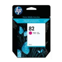 HP – Cartouche d'encre no. 82 magenta – 69 ml