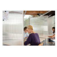 MAGNETOPLAN – Séparation d'une pièce acryl – 1800 x 1000 mm, Bande magnétique